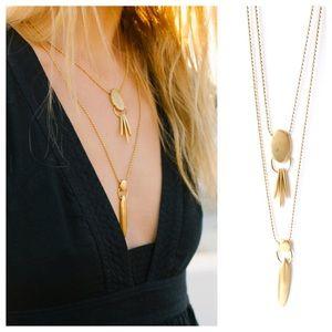 M a d e w e l l • Thistle Layering Necklace
